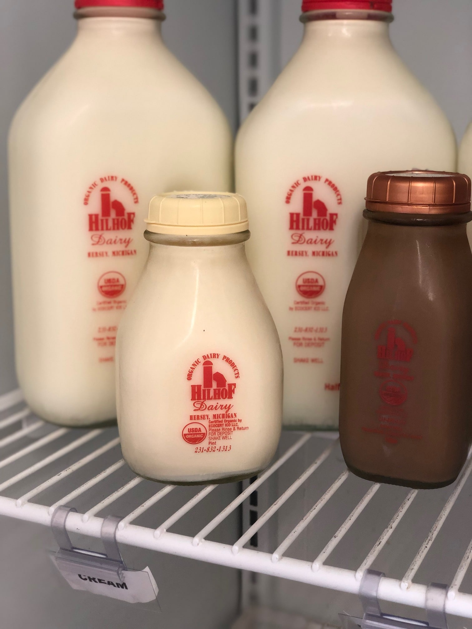 Organic Milk and Dairy Products from Michigan Farms